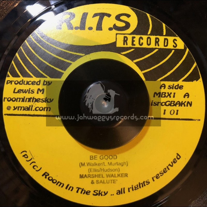"""R.I.T.S Records-7""""-Be Good / Marshall Walker + What The World Needs / R Zee Jackson"""