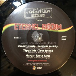 "Jahmanican-12""-Eternal Riddim Feat-Deadly Hunter-Tippa Irie-Marga-J Life & Lyricson"