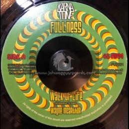 """FULLNESS-7""""-WALK OF LIFE / WAYNE MCARTHER"""