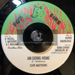 "Fox Fire Records-7""-Am Going Home / Clive Matthews"