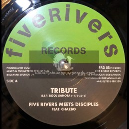 "Five Rivers Records-7""-Tribute / Five Rivers Meets Disciples Feat. Chazbo"