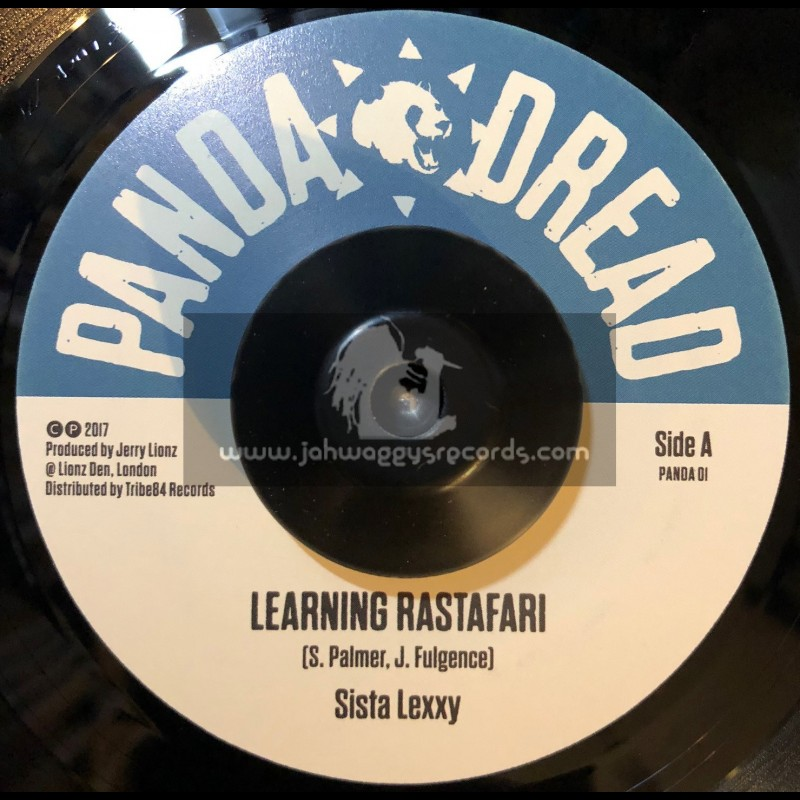 "Panda Dread-7""-Learning Rastafari / Lexxy + Learning Dub / Jerry Lions"