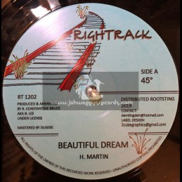 "Rightrack-12""-Beautiful Dream / Horace Martin + Jah Jah Children / Horace Martin"