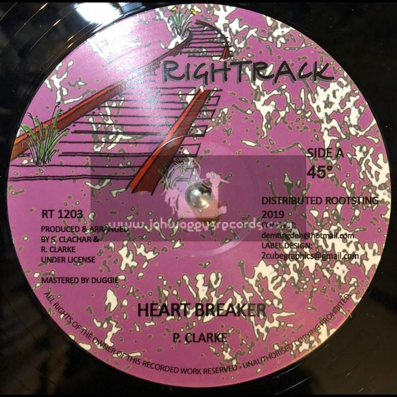 "Rightrack-12""-Heart Breaker / Paula Clarke + Beautiful Lady / Tony Murry"
