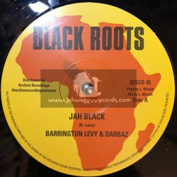 "Black Roots-Archive Recordings-12""-Jah Black / Barrington Levy + Leave Natty Business / Robert Emmanuel"