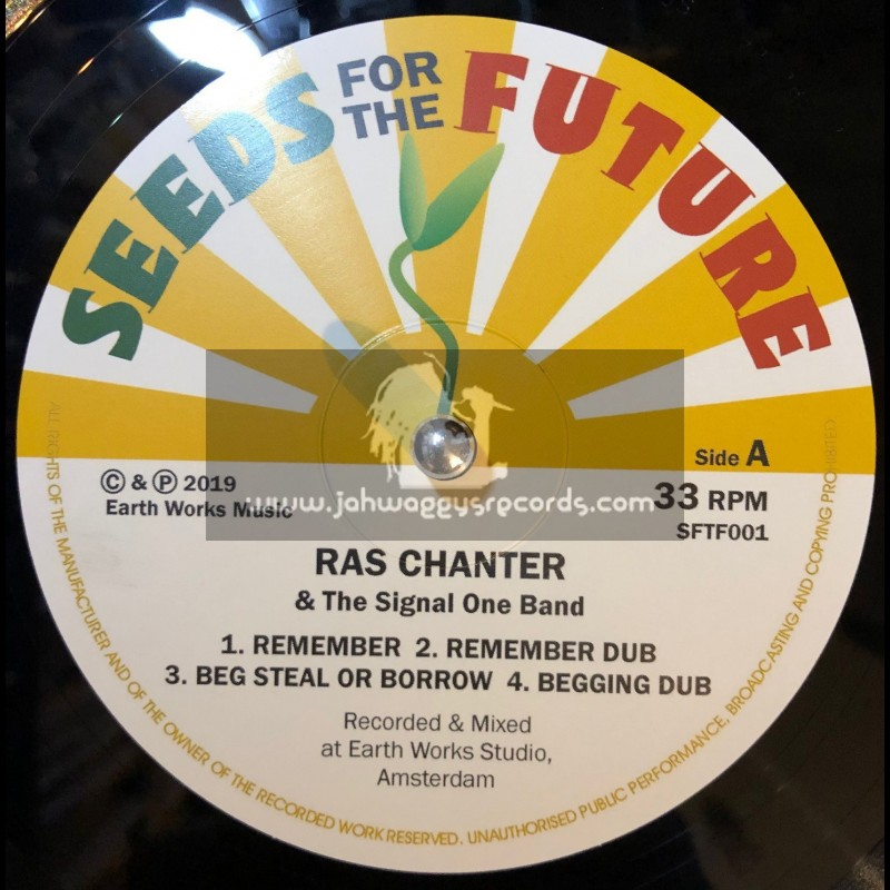 """Seeds For The Future-12""""-Ep-Ras Chanter Vocal And Dubwise Showcase"""