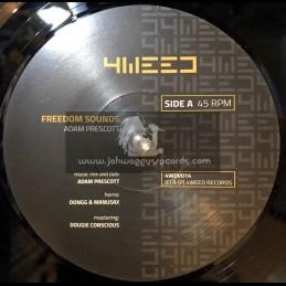"4Weed Records-7""-Freedom Sounds / Adam Prescott"