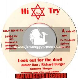 "Hi try-7""-Look out for the devil / Junior dan-Richard burger"