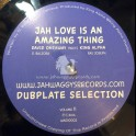 "Jah Waggys Dubplate Selection Vol 11-10""-Jah Love Is An Amazing Thing / David Oneaway Meets King Alpha - Black Vinyl"