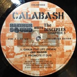 """Calabash-10""""-Ganja For Life / Jah Mason"""