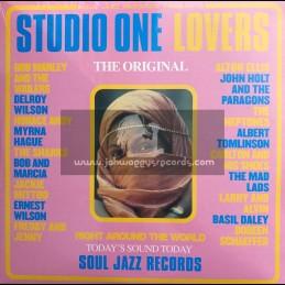 Soul Jazz Records-Double-LP-Studio One Lovers / Various
