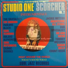 Soul Jazz Records-Double-LP-Studio One Scorcher Vol. 2 / Various