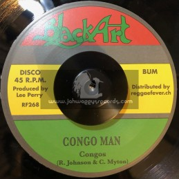 """Black Art-7""""-Congo Man / Congos"""