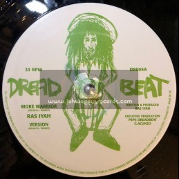 "Dread Beat-12""-More Warrior / Ras Iyah + Formula One Dub / Daddae Harvey"