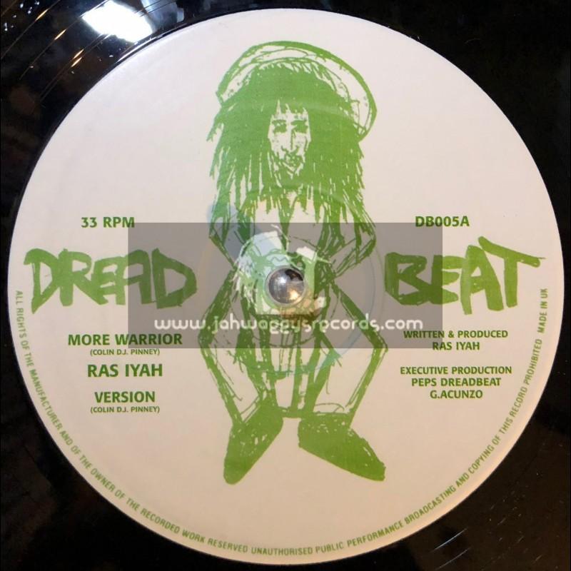 "Dread Beat-12""-More Warrior / Ras Iyah + Formula One Dub / Daddae Harvey"