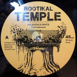 "Rootikal Temple-12""-Diligence Rock / I Jah Salomon + Back To The Wall / Mamatya"