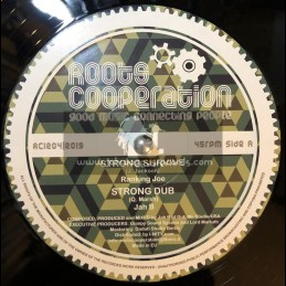 """Roots Cooperation-12""""-Strong Survive / Ranking Joe + Behold / Shinehead"""