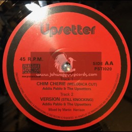 "Upsetter-10""-Chim Cherie Rock / Diggory Kenrick & Lee Perry"