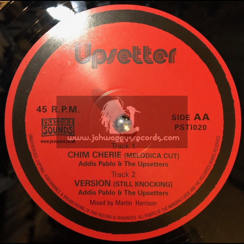 """Upsetter-10""""-Chim Cherie Rock / Diggory Kenrick & Lee Perry"""