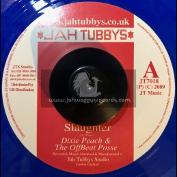"Jah Tubbys 7""-Slaughter, Dixie Peach & The Offbeat Posse"