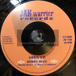 "Jah Warrior Records-7""-Open Up / Bobby Blue"
