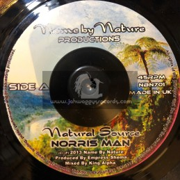 "Name By Nature Productions-7""-(Test Press)-Natural Source / Norris Man"