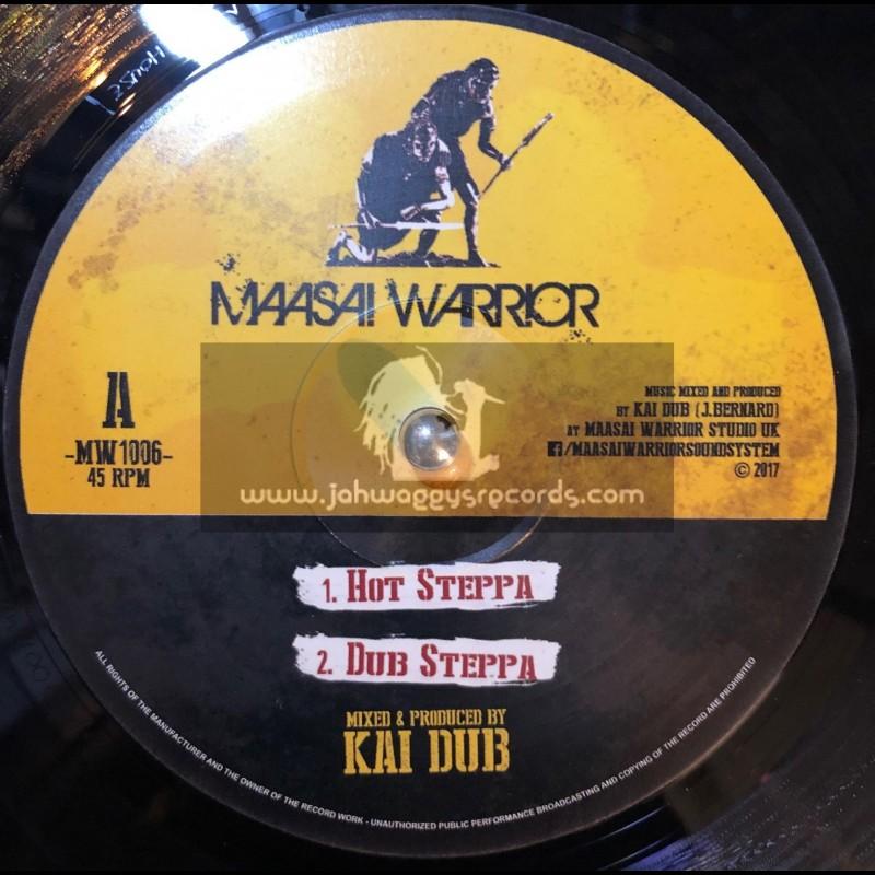 """Maasai Warrior-10""""-Hot Steppa / Kai Dub + I Am Ready / Kai Dub"""