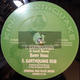 "King Earthquake-12""-Earthquaker + Money / Barry Issac"