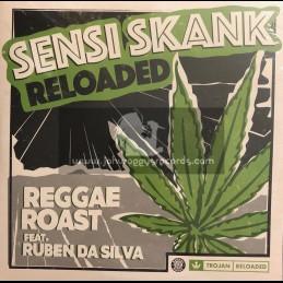 """Trojan Reloaded-10""""-Sensi Skank Reloaded / Ruben Da Silva"""