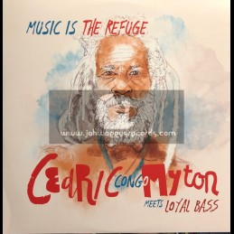 "La Panchita Records - Station 42 Records-12""-Music Is The Refuge / Cedric Congo Myton"
