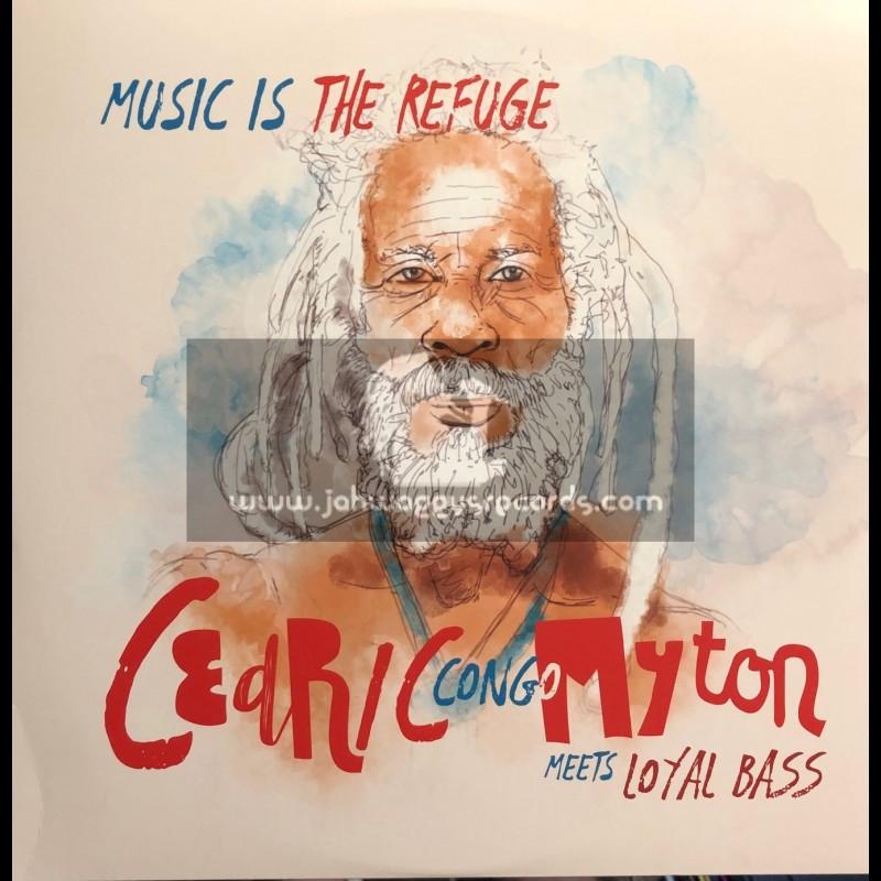 "La Panchita Records - Station 42 Records-12""-Music Is The Refuge / Cedric Congo Myton"