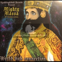 "Nyahbinghi Dub-Double-12""-World Dub Connection / Mighty Massa"