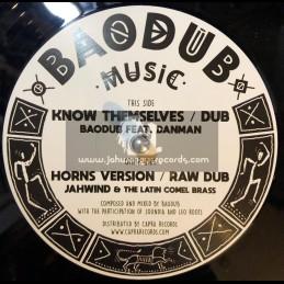 "Baodub Music-12""-Know Themselves / Baodub Feat Danman"