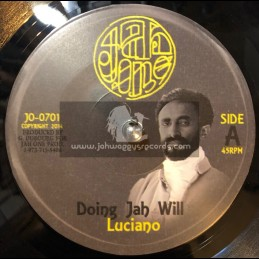 "Jah One-7""-Doing Jah Will / Luciano"