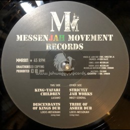 "Messenjah Movement Records-12""-King Tafari Children / Luciano + Strictly Jah Works / Mikey General"