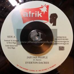 "Afrik-7""-Jah Jah People / Everton Dacres + Jah People Time / Stereophonics"