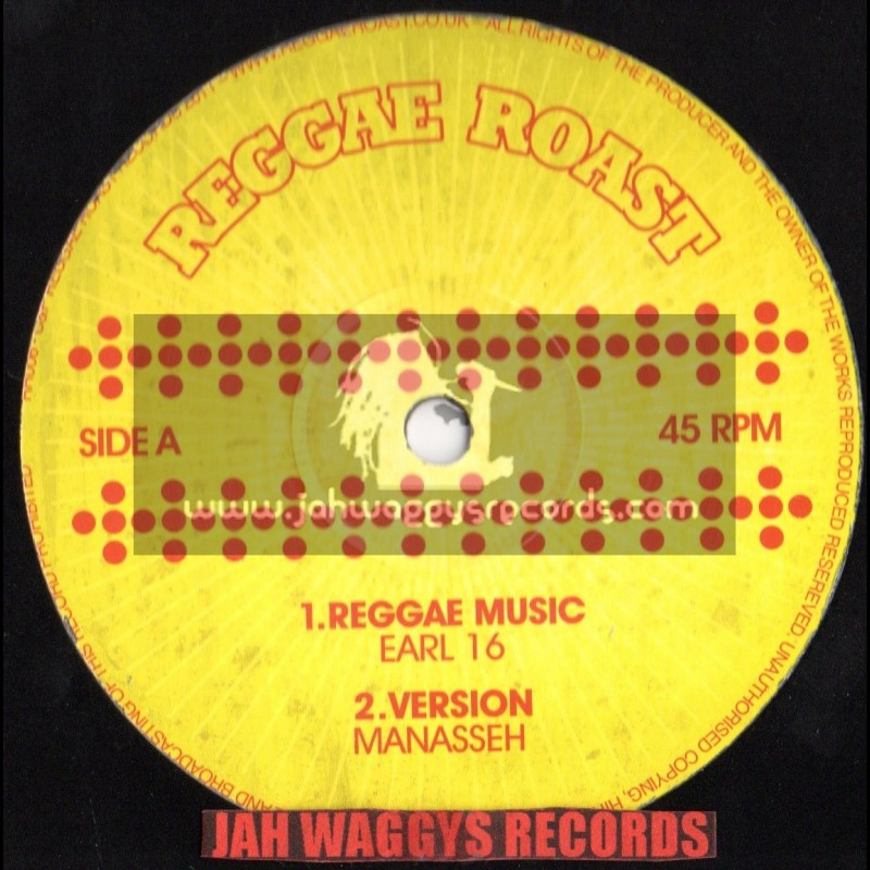 "Reggae Roast-12""-Reggae music / Earl 16 - Manasseh - Mungo s hi fi(dub meets dubstep)"