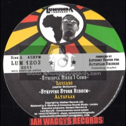 "Lumumba Records-12""-Ethiopia Here I Come / Luciano - Altafan - Hornsman Coyte - Dougie Wardrop"