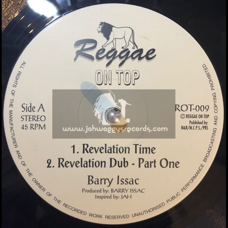"REGGAE ON TOP-12""-REVELATION TIME/BARRY ISSAC"
