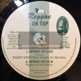 "Reggae On Top-12""-Spirit Of Jah / Barry Issac Feat:Chazbo"