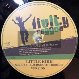 """Livity Reggae-12""""-Dont Touch Crack + Screechie Across The Border / Little Kirk"""