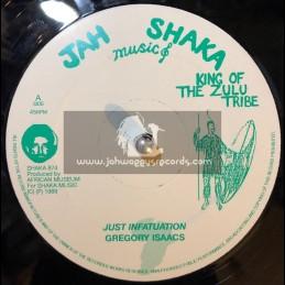 """Jah Shaka Music-12""""-Just Infatuation / Gregory Isaacs"""