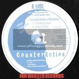 "CounterAction-10""-Smiling Dub/CounterAction Warriors +  Macka / Jah Mystic"