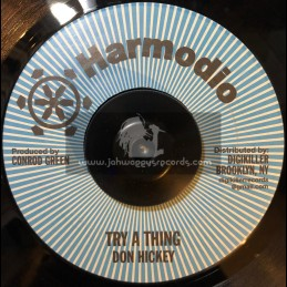 """Harmodio-7""""-Try A Thing / Don Hickey (DigiKiller)"""
