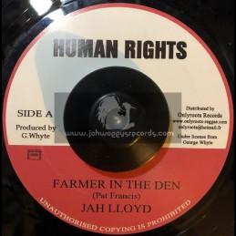 "Human Rights-7""-Farmer In The Den / Jah Lloyd"