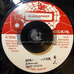 "Black Spider Records-7""-Jordan River / David Jahson"