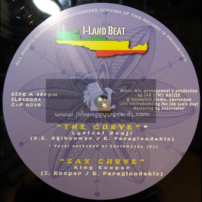 "I-Land Beat Records-12""-The Curve / Lyrical Benji + Only I / Joshua Hales"