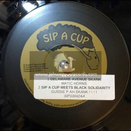 "Sip A Cup Records-10""-Delaware Avenue Skank + Ancient Harmonies / Matic Horns"