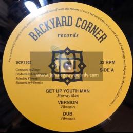 "Backyard Corner Records-12""-Get Up Youth Man / Murray Man + Stand Up Youth Man / Jacin"