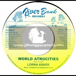 "RiverBank Records-7""-World Atrocities / Lorna Asha"